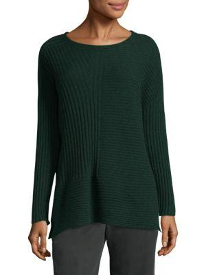 Eileen Fisher Roundneck Cashmere Top