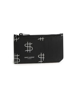Saint Laurent Money Sign Wallet