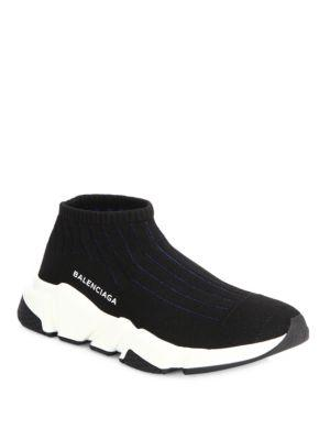 Balenciaga Speed Round Toe Low Top Sneakers