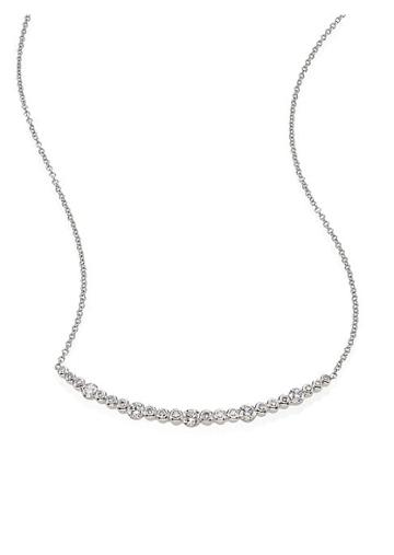 Kwiat Starry Night Diamond & 18k White Gold Necklace