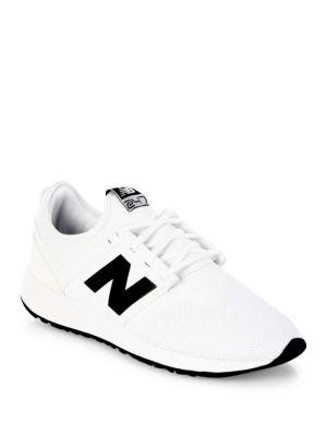 New Balance Suede Classic Casual Embossed Lace-up Sneakers