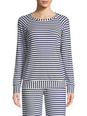 Cosabella Hattie Striped Sweatshirt