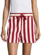 Redvalentino Striped Board Shorts