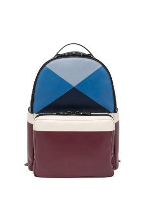 Valentino Patchwork Leather Backpack