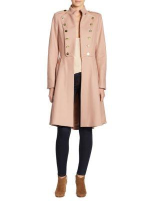 Alice + Olivia Rossi Mid-length Military Coat
