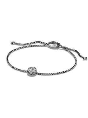 David Yurman Petite Bracelet With Diamonds