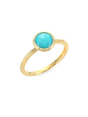 Marco Bicego Jaipur Turquoise & 18k Yellow Gold Ring