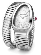 Bvlgari Serpenti Stainless Steel Tubogas Bracelet Watch