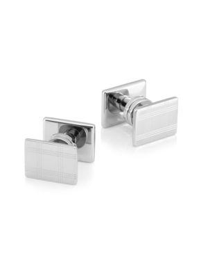 Montblanc Stainless Steel Linear Cuff Links