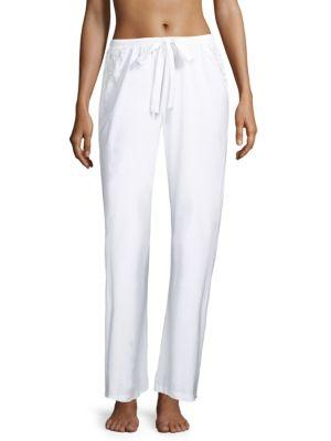Cosabella Jazmine Lace-trimmed Pants
