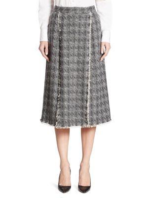 Thom Browne Pleated High-waist Skirt