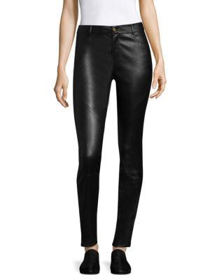 Lafayette 148 New York Silky Stretch Nappa Mercer Pant
