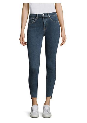 Rag & Bone/jean Raw Hem Skinny Jeans