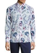 Etro Multi-printed Cotton Shirt