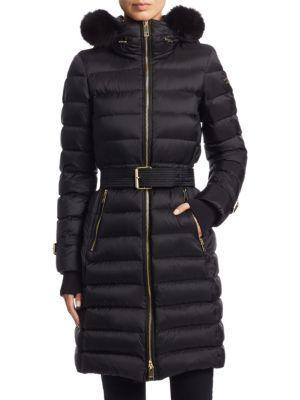 Burberry Puffer Parka Coat