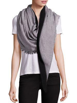 Bajra Dot Triangle Wool Scarf