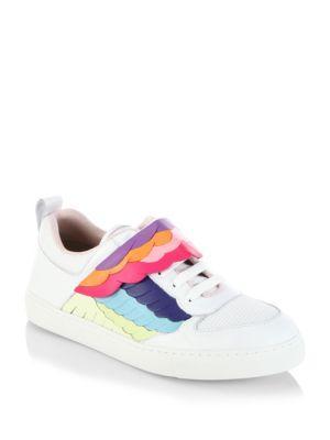 Sophia Webster Firebird Leather Sneakers