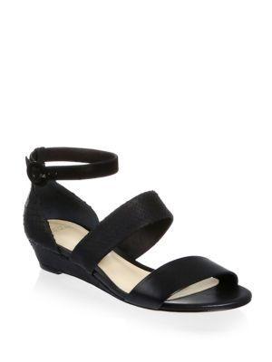 Alexandre Birman New Yanna Python & Leather Platform Sandals
