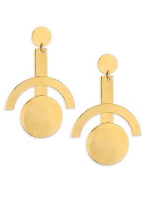 Lele Sadoughi Concrete Jungle Telescope Earrings