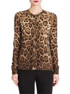 Dolce & Gabbana Leopard-print Cardigan