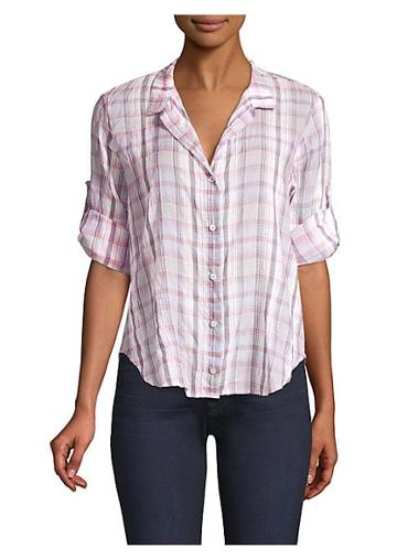 Bella Dahl Capri Check Button-down Shirt