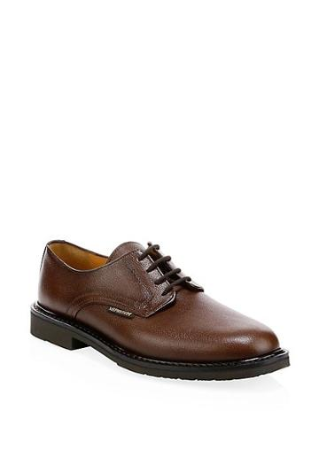 Mephisto Pebbled Leather Oxfords
