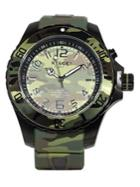 Kyboe Stainless Steel Camo Watch