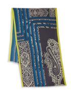 Etro Geometric Wool Scarf