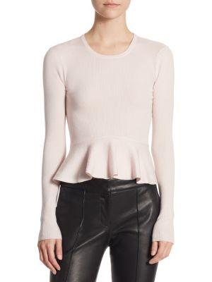 A.l.c. Alex Peplum Sweater