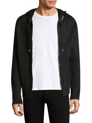 Helmut Lang Full-zip Cotton Hoodie