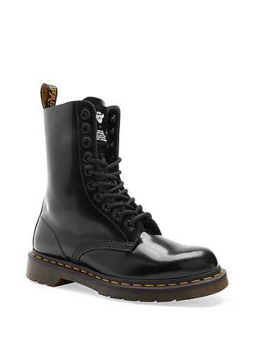 Marc Jacobs Dr. Martens X Marc Jacobs Leather Lace-up Boots