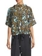 Marc Jacobs Short Sleeve Drawstring Top