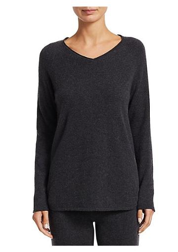 Saks Fifth Avenue Long Sleeve Lounge Top