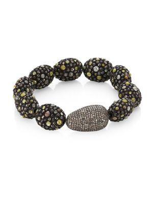 Bavna Mixed Pave Bracelet