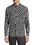 Ami Polka Dot Print Shirt