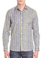 Etro Gingham Printed Shirt