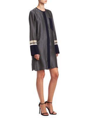 Victoria, Victoria Beckham Silk Shift Dress