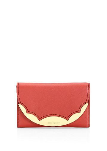 See By Chloe Medium Brady Leather Wallet