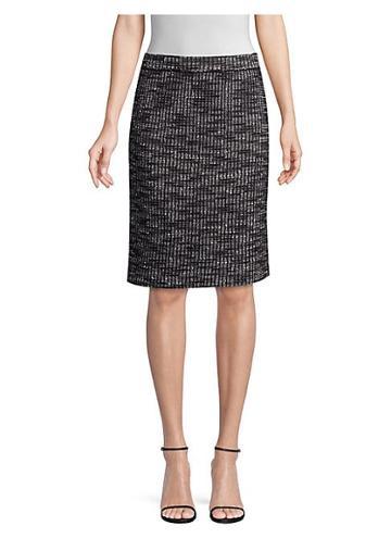 Misook Tweed Pencil Skirt
