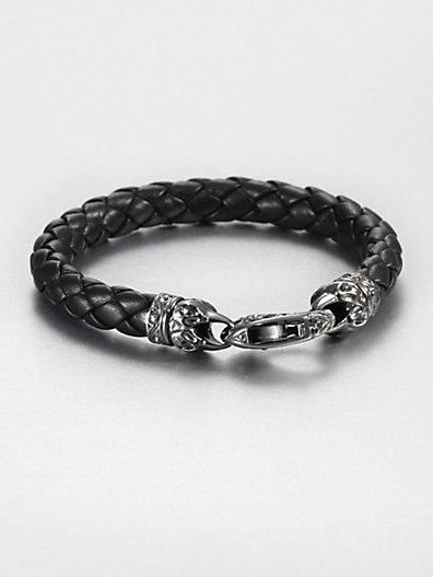 Stephen Webster London Calling Leather Bracelet