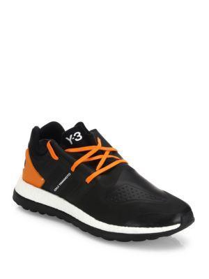 Y-3 Colorblocked Running Sneakers
