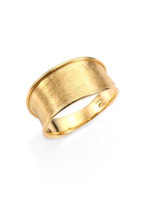 Marco Bicego Lunaria 18k Yellow Gold Small Band Ring