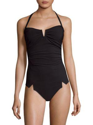 Shan Arsen One-piece Bandeau Swimsuit
