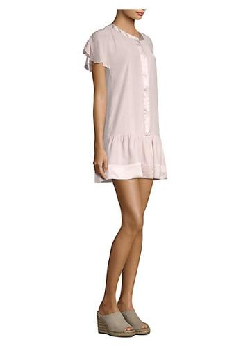 Parker Parker Stacey Silk Shirt Dress