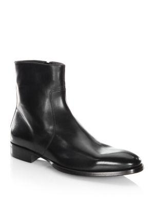 To Boot New York Roosevelt Leather Boots