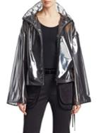 Valentino Transparent Zip Jacket