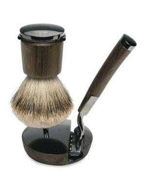 Acqua Di Parma Razor & Brush Deluxe Stand Set