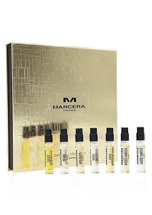 Mancera Eau De Parfum Seven-piece Discovery Collection Set