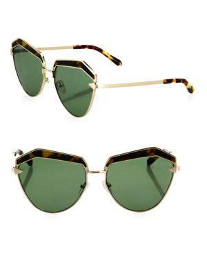 Karen Walker Jacinto 61mm Cat Eye Sunglasses