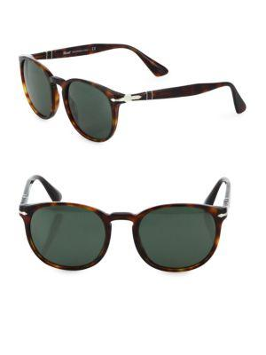 Persol 54mm Havana Solid Lens Sunglasses
